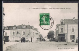 CARQUEFOU . Place De L'Eglise , Route De Thouaré . - Frankreich