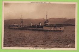 CPSM Torpilleur INTREPIDE, Neuve. - Warships