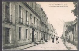 PAIMBOEUF . Le Tribunal Et La Rue Neuve . - Paimboeuf