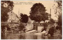 Sermaize Les Bains - Rivière La Saulx Et L'église - Sermaize-les-Bains