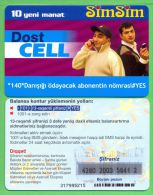 Azerbaijan GSM Prepaid - Azercell SIMSIM 10 Manat /like UNC / - Azerbaïjan