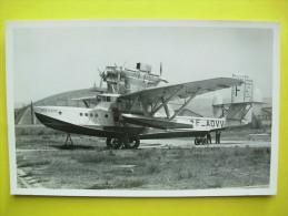 Etang De Berre ,hydravion Bretagne ,aviation - France