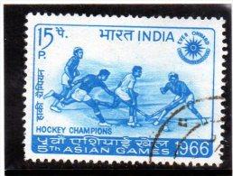 1966 Indiua - V° Asian Games - Hockey (su Erba)