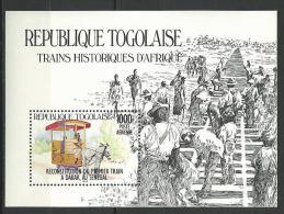 "Togo Bloc YT 231 "" 1er Train à Dakar "" 1984 Neuf** - Togo (1960-...)"