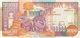 BILLET # SOMALIES  # 1000 SHILINS # 1990  # PICK 37 # NEUF # - Somalia