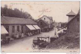 88 LA SCHLUCHT VOSGES DOUANE FRONTIERE AVEC CAFE TRES ANIMEES - France