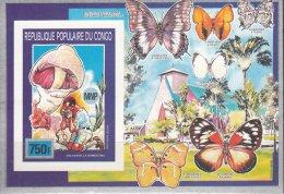 CONGO KONGO 1991 PILZE CHAMPIGNONS MUSHROOMS FUNGHI HONGOS MNH NEUFS ** FUN - Champignons