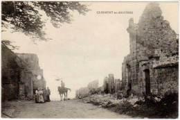 Clermont En Argonne (tampon Trésor Et Postes 1915 - 7) - Clermont En Argonne