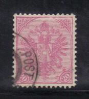 AP286 - BOSNIA ERZEGOVINA 1900 , 20 Heller Rosa N. 16B Dentellato 12 1/2 - Bosnia Erzegovina