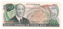100 Colones, 1993. UNC. - Costa Rica