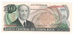Costa Rica 100 Colones, 1993. UNC. - Costa Rica