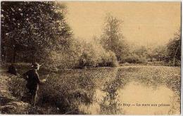27 - PARC DE BIZY - LA MARE AUX PRINCES - CARTE A DOS SIMPLE (1ère édition) - Frankreich