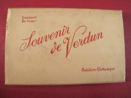 Souvenir De VERDUN. Dépliant 20 Cartes Postales - Verdun