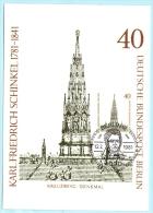 BERLIN - MK MC Maximumcard - 640 K.F. Schinkel - Denkmal Kreuzberg  (8901) - Berlin (West)
