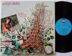 Georges CHELON LP An 1973 Dédicacé Disque MEYS Ouvrez Les Portes De La Vie EX - New Age