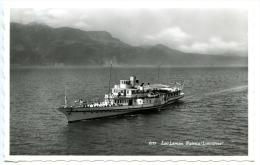 "Lac Leman, Genfersee, Bateau ""Lausanne"", Schiff, Dampfer, - GE Genève"