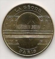 Médaille    La Géode   2006  -  Neuve - Monnaie De Paris - Monnaie De Paris