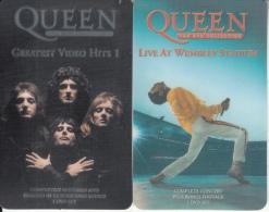 UK - Queen, Set Of 2 UK Prepaid Cards 20 Units, Exp.date 10/03, Mint - Regno Unito