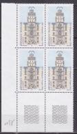 N° 2815 Bicentenaire De La Mise En Service Du Télégraphe Optique Chape 1794.Bloc De 4 Timbres - Frankreich