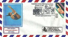 USA. Diving 1984 , Le Plongeon Olympique, Enveloppe Souvenir (20 Ième Anniversaire) - Summer 1984: Los Angeles