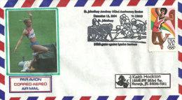 USA. Saut En Longueur Olympique,1984,  Enveloppe Souvenir. 20 Ième Anniversaire. - Summer 1984: Los Angeles