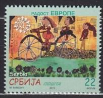 2013 SERBIE Serbia  ** MNH Vélo Cycliste Cyclisme Bicycle Cyclist Cycling Fahrrad Radfahrer Radfahren Bicicleta C [BF50] - Cycling