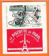 Buvard BISCOTTES De Paris Cyclisme Demi-fond - Biscotti