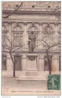 69 LYON FACULTE DE MEDECINE STATUE DE CLAUDE BERNARD - Lyon