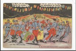 Lot De 18 CPA Militaria Humoristiques éditeur E.R Paris : Aux Patates, Le Lavabo, Repas Troublé... - Humorísticas