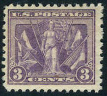 US #519 Mint Hinged 3c Victory Issue Of 1919 - United States