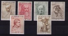 MONACO 1969 Leonardo Da Vinci - Arts