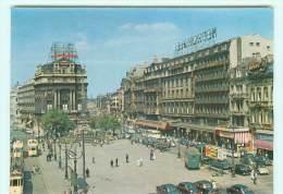 BRUXELLES /  Place De Brouckère , Automobile , Voiture Ancienne , Oldtimer - Monuments, édifices