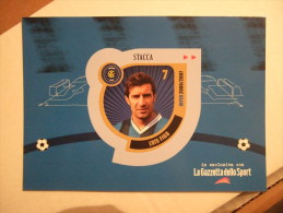 Louis Figo Football Player INTER Carte Postale Sticker - Soccer