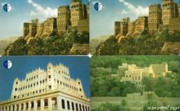 TELECARTES  YEMEN    80/160/240 Units  (lot De 4)   ***** - Yémen