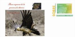Spain 2013 - Aves Rapaces De La Península Ibérica (Birds Of Prey Prepaid Cover) - Adler & Greifvögel