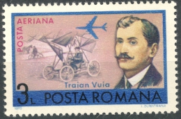 Romania 1972  Traian Vuia   3L  MH  Scott#C190 - Aéreo
