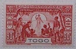Togo Français N° 163 * Exposition Coloniale Internationnale De Paris 1931(V9) - Unused Stamps