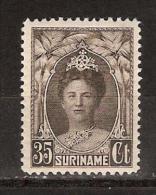 Suriname 126 MNH ; Koningin, Queen, Reina, Reine, Konigin Wilhelmina 1927-1930 - Suriname ... - 1975