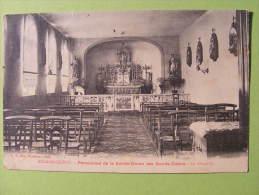 CPA Aulnois-Quévy (Belgique) - Pensionnat De La Sainte Union Des Sacrés Coeurs - La Chapelle - Belgium