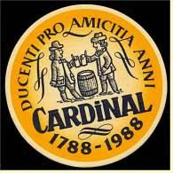 Bierdeckel Cardinal  -  Ducenti Pro Amicitia Anni - Sous-bocks