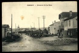 Cpa  Du 55  Charny Avenue De La Gare      ....   Verdun  HRT4 - Verdun