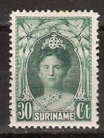 Suriname 125 MLH ; Koninging, Queen, Reina, Reine, Konigin Wilhelmina 1927-1930 - Suriname ... - 1975