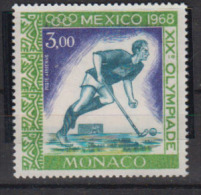 MONACO      1968        PA    92          COTE   1 . 85      EUROS                ( M 96 ) - Poste Aérienne