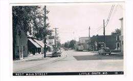 US-555    LITTLE CHUTE : West Main Street ( Old American Cars) - Stati Uniti