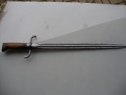 Belle Dague De Chasse Ou De Venerie - Knives/Swords