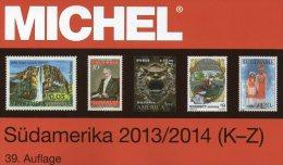 Südamerika Band 3/2 K-Z MICHEL Stamp Catalogue 2014 New 79€ II: Paraguay Peru Surinam Uruguay Catalogue Of South-America - Allemand