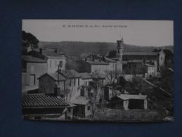 CPA-13-ST ANTOINE-Quartier De L'église-(port Gratuit) - France