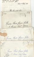 LOT DE 3 LETTRES FM AVION SP87065+88424 AFN 1961 POUR PARIS - Postmark Collection (Covers)
