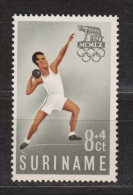 Suriname 349 MNH; Atletiek, Athletics, Athletisme, Atletismo 1960 - Atletiek