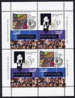 SLOVENIA 1995 UNO And FAO Sheetlet MNH / **.  Michel 123-24 - Slovenia